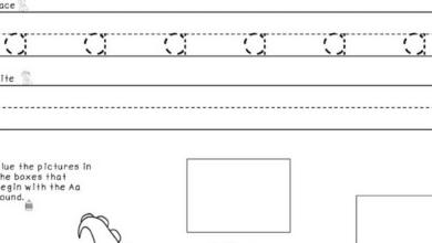 Letter Tracing Worksheets For Preschoolers - Education Worksheet