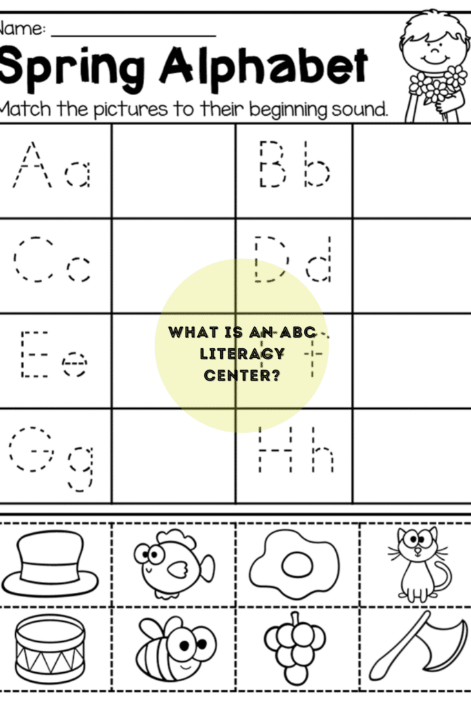 What is an ABC literacy center?