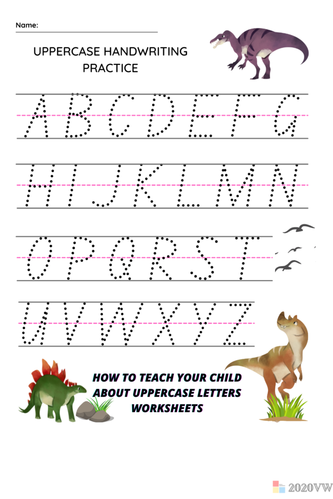 How To Teach Your Kids About Uppercase Letters Worksheets