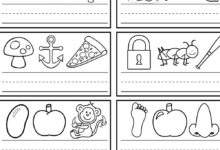 The Secret Words Phonics Worksheet Teaching Children to Read and Write