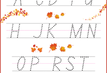 Alphabet Tracing Worksheets A-Z free Printable Bundle for Kids