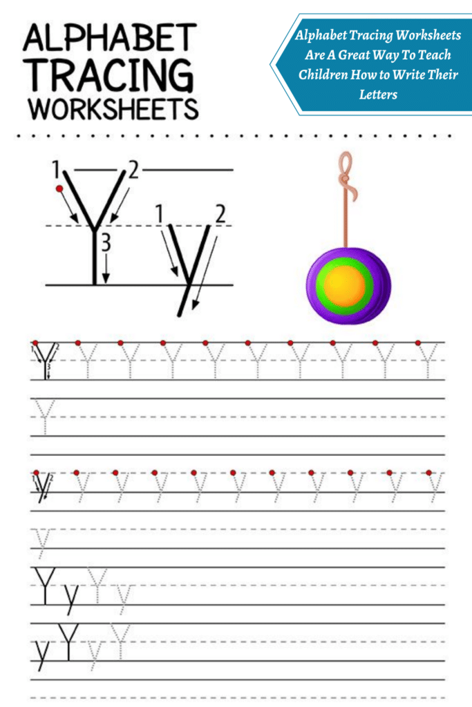 Alphabet Tracing Worksheets Are A Great Way To Teach Children How to Write Their Letters