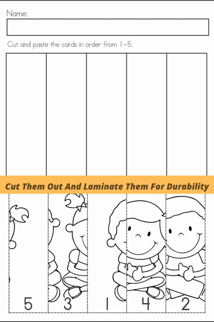 Cut Them Out And Laminate Them For Durability