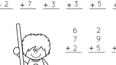 Free Fall Printables for First Grade Math Lessons