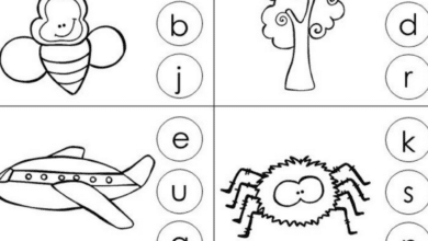 Free Printable and Fun Beginning Sounds Worksheets for Preschoolers