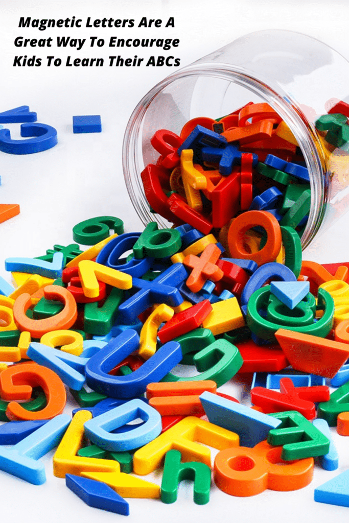 Magnetic Letters Are A Great Way To Encourage Kids To Learn Their ABCs