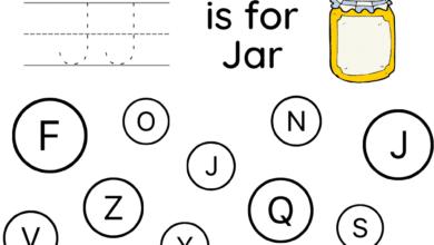 Printable A to Z Letter Find Worksheets