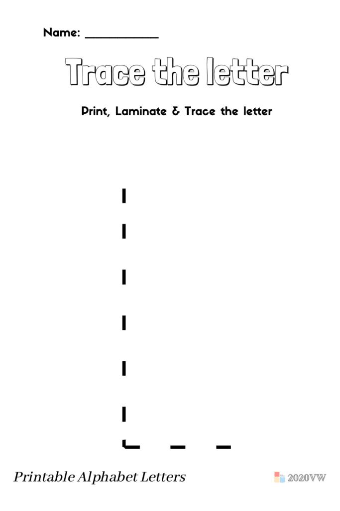Printable Alphabet Letter