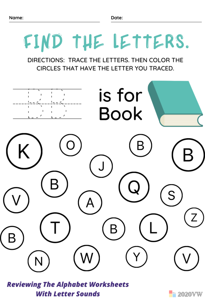 Reviewing The Alphabet Worksheets With Letter Sounds