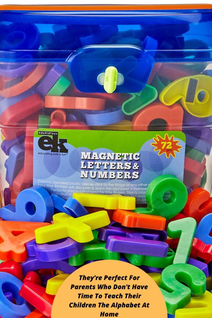 They're Perfect For Parents Who Don't Have Time To Teach Their Children The Alphabet At Home