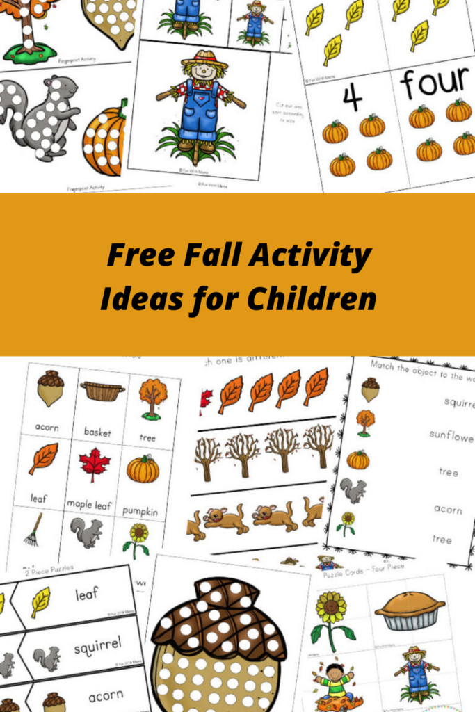 Free Fall Activity Ideas for Children