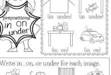 Free Printable English Grammar Worksheets For Kindergarten