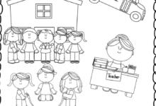Homework Folder for Kindergarten Worksheets